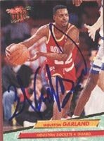 Winston Garland Houston Rockets 1993 Fleer Ultra Autographed Hand Signed Trading... by Hall of Fame Memorabilia