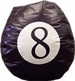 8 Ball Vinyl Bean Bag Chair