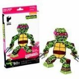 Paper Punk Teenage Mutant Ninja Turtle TMNT Raphael Pizza Build Your Own Paper Action Figure Toy Nickelodeon