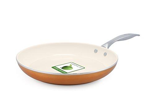 Trisha Yearwood Royal Precious Metals 10 Inch Fry Pan, Copper