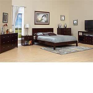 Pacifica 6 piece king bedroom set bed 2 for Bedroom furniture amazon