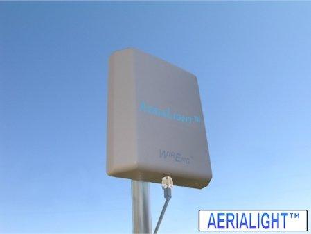 AeriaLight™ Ultra Wide Band 3G & 4G Outdoor External Antenna for Verizon Wireless 4G LTE USB Modem 551L