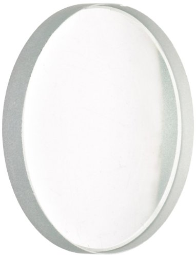 American Educational Unmounted Double-Concave Lens with Ground Edges, 50mm Diameter, 10cm Focal Length (Bundle of 5)