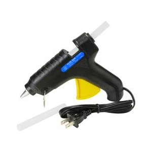 Image: Parts Express Hot Melt Trigger Glue Gun - Comes with built-in stand and two glue sticks