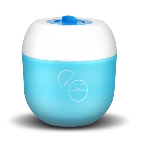 Qyz@ Cute Egg Boiler Egg Cooker No Electricity New And Color Random front-242701