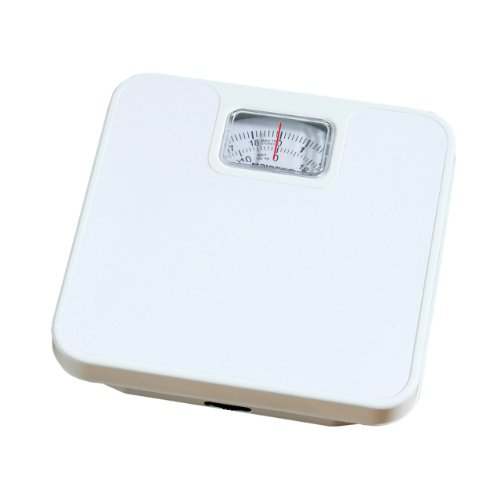 White Mechanical Scales Plain Design