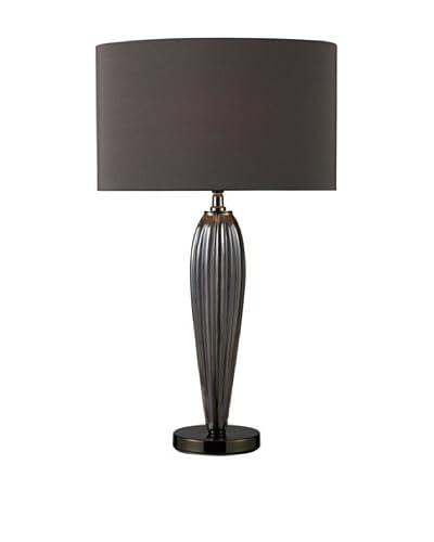 Artistic Lighting Carmichael Table Lamp, Smoke/Black