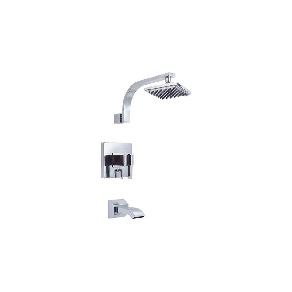 Danze D500044 Sirius Single Handle Tub and Shower Faucet, Chrome