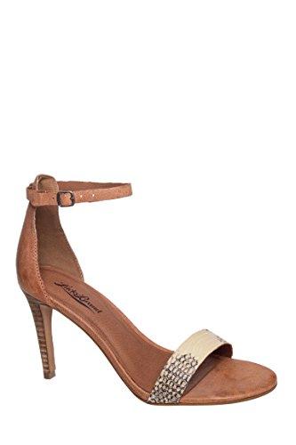 Sanza High Heel Ankle Strap Sandal