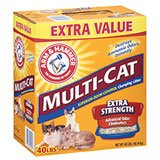 Arm & Hammer Multi-Cat Extra Strength Fresh Scent Clumping Litter - 40 lb