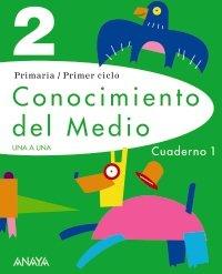 Conocimiento del Medio 2. Cuaderno 1. (UNA A UNA), Buch