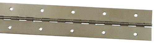 """Stanley Hardware Sc311 1-1/16"""" X 48"""" Continuous Hinges In Brass front-897735"""