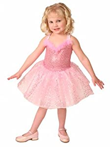 Dance and Twirl in this Pretty Pink Ballerina Dress for Toddlers