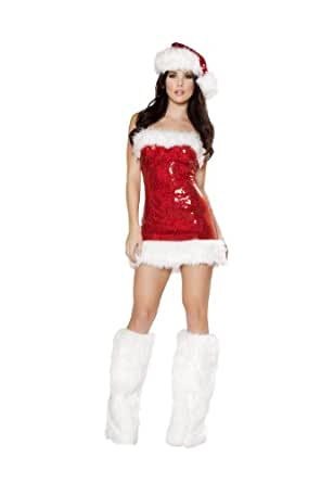 Miss Candy Cane Sexy Santa Costume