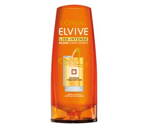 Elvive Liss-Intense Balsamo Crema Lisciante 400 ml Capelli Lisci, Ricci, Volume