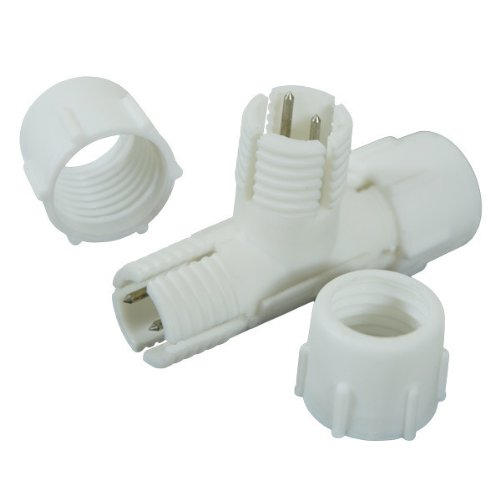 Rope Light - T Compression Connector - 1/2 in. - 2 Wire - FlexTec F11