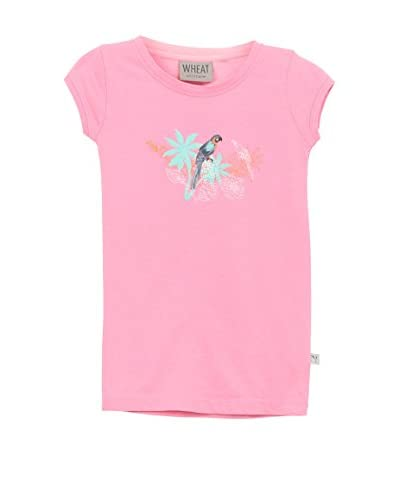 Wheat T-Shirt Manica Corta [Rosa]