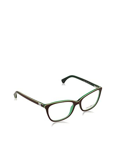 Emporio Armani Gestell 3053 (52 mm) BROWN/GREEN LINE/GREEN WITH-LENS