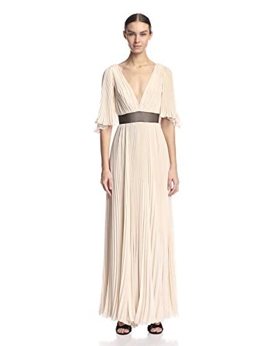 A.B.S. by Allen Schwartz Women's Pleated Gown