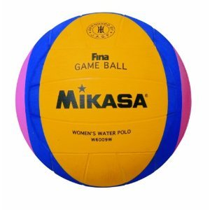 Mikasa 2012 London Olympic Water Polo Game Ball (Yellow/Blue/Pink, Size 4)