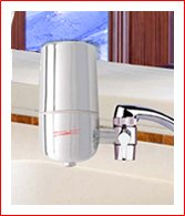 Crystal Quest CQE-FM-00501 Faucet Mount Water Filter System, Chrome