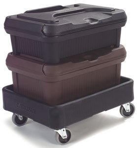 Carlisle Cateraide Xdl3000H Dolly With Handle For Xt3000R Insulated Food Pan Carrier front-614830