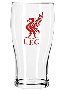 Liverpool Fc Crest Pint Glass from Liverpool FC