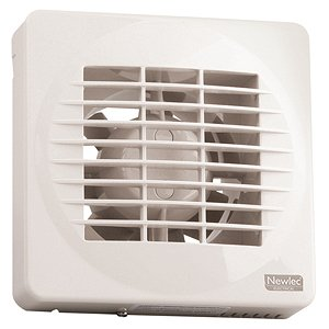 Newlec Nl880t Bathroom Axial Extractor Fan With Electronics