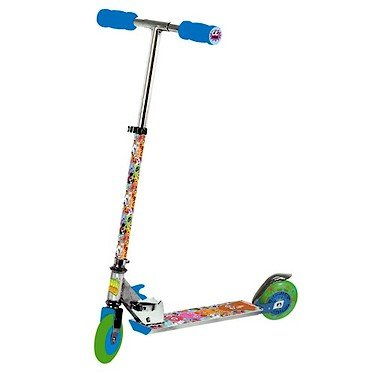 Moshi Monsters Folding Scooter With Light Up Wheel