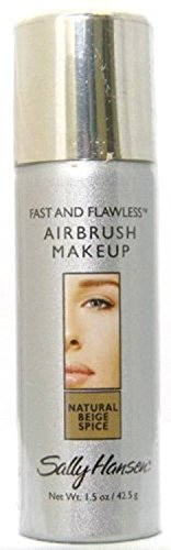 Sally Hansen Fast and Flawless Airbrush Make-up for All Skins Natural Beige Spice 1.5 Oz (Airbrush Spray Makeup compare prices)