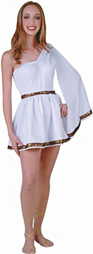 Ladies Roman Toga Costume (Size:Small 1-3)