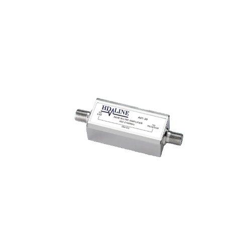 HD-Line A01-30 Amplificateur Satellite + Terrestre 450-2150 Mhz Blanc