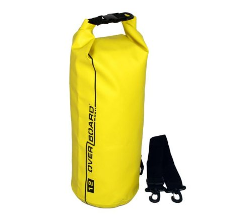 OverBoard Waterproof Dry Tube Bag, Yellow, 12-Liter (japan import)