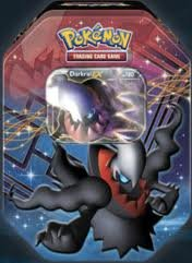 Pokemon Dragons Exalted 2012 Fall Legendary Darkrai Ex Tin