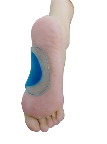 Dr Rogo Orthopedic Gel Arch Support Insoles -Correct Flat Feet - Relieves Pain & Reduces Pressure (Flat Feet Insoles compare prices)
