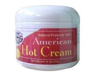 American Natural American Hot Cream 4 oz Excessive Body Fat Burner Reducer