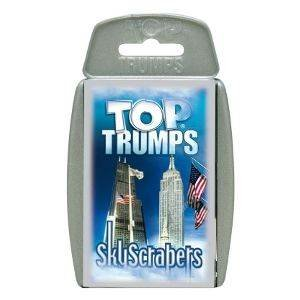 Top Trumps Skyscrapers - 1