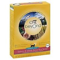 See Purina One Beyond Cat Salmon Brown Rice, 16-Ounce (Pack of 6)