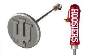 Indiana Hoosiers Branding Iron Grill Accessories