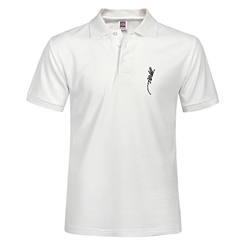 Personal Lizard Style Men Fashion Casual Polo Shirt With Soft Material Size