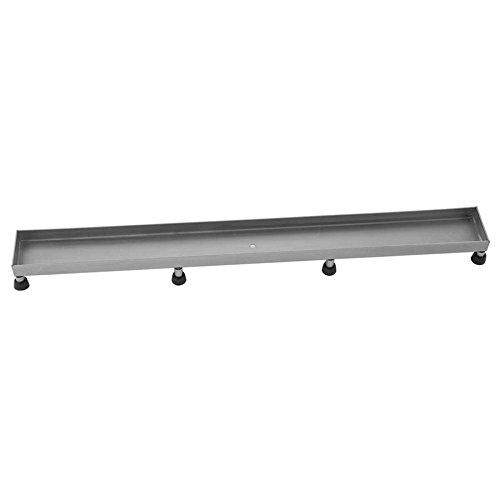 [해외]Jaclo 6226-36-BSS 타일 창 살, 36, 닦 았 스테인레스 스틸/Jaclo 6226-36-BSS Tile Grate, 36 , Brushed Stainless Steel