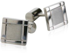 Titanium Square Cufflinks with Presentation Box