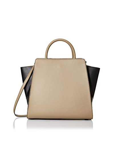 ZAC Zac Posen Women's Eartha North/South Satchel, Desert Colorblock