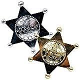 Plastic Sheriff Badges