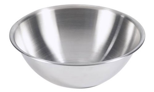 Browne (S876) 6 qt Stainless Steel Mixing Bowl (6 Quart Mixing Bowl compare prices)
