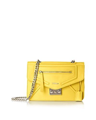 Furla Alice Small Evening Bag, Sunny/Bright Yellow