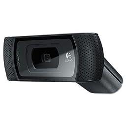 Logitech - B910 Hd Webcam 720P Black \