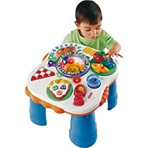 Fisher price laugh learn electronic activity table diy tools - Table activite fisher price ...