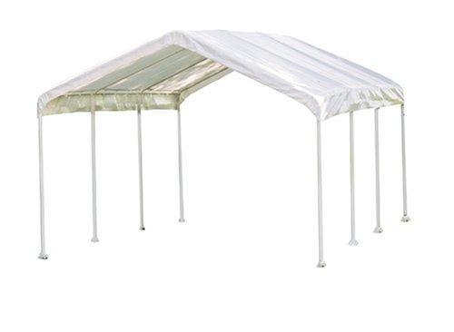 """ShelterLogic 10x20 1-3/8"""" 8-Leg Canopy (White)"""