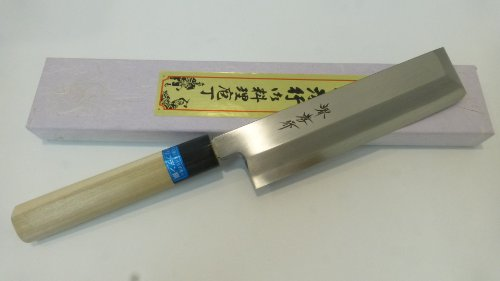 "Vegetable Usuba Knife 7.1""/180Mm Inox By Sakai Takayuki"